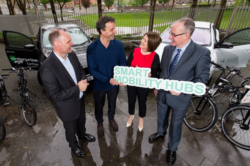 Launch of Smart Mobility Hub in Dublin City Council