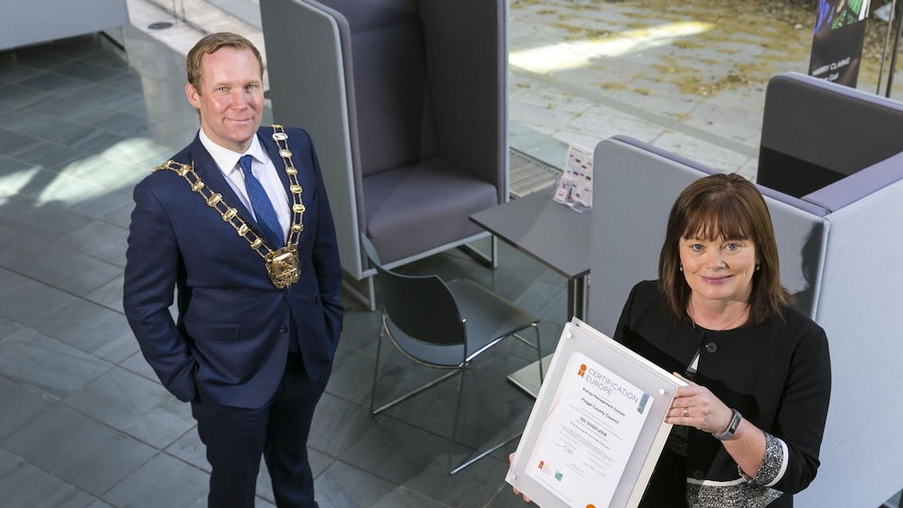 Fingal County Council has been awarded ISO 50001 certification for its Energy Management System by Certification Europe.