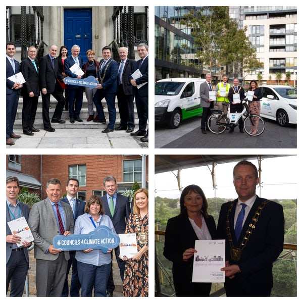 Dublin Local Authorities Launch their Climate Change Action Plans