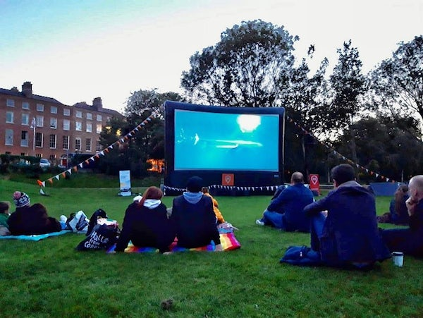 Open Air and Online Screenings for Dublin Climate Action Week